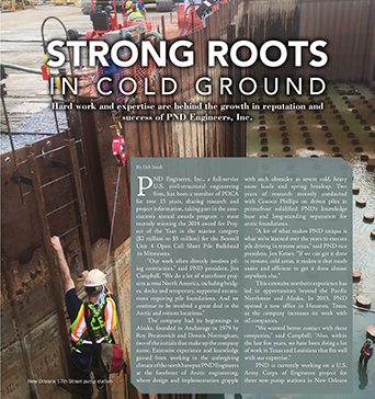 PileDriver Magazine: Strong Roots in Cold Ground