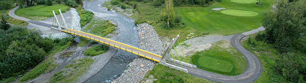Moose Run Pedestrian Bridge, Anchorage_Banner