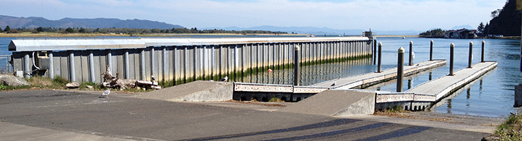 Cape Disappointment Wave Barrier