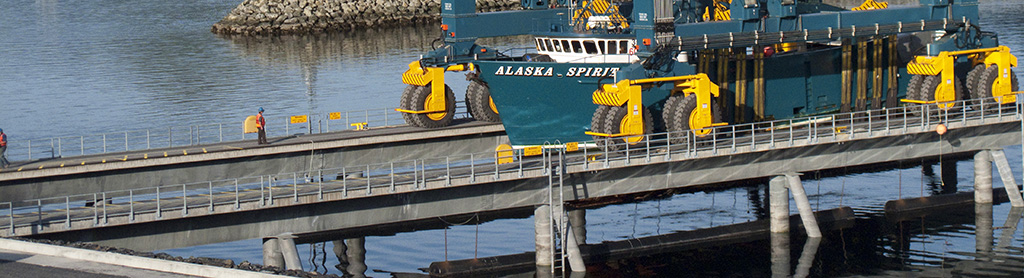 Kodiak Shipyard Travelift Pier