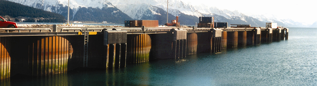 Seward Railroad Dock
