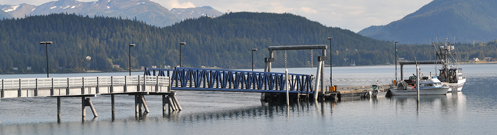 Auke Bay Drive Down Dock