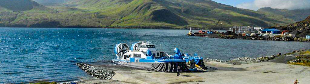 Akutan Airport - Hovercraft Ramp